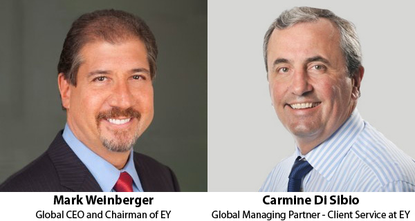 Mark Weinberger and Carmine Di Sibio - EY