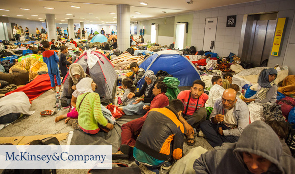 McKinsey helps Germany deal with the refugee crisis