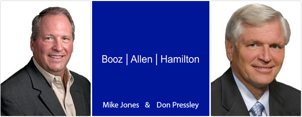 Mike Jones and Don Pressley - Booz Allen Hamilton