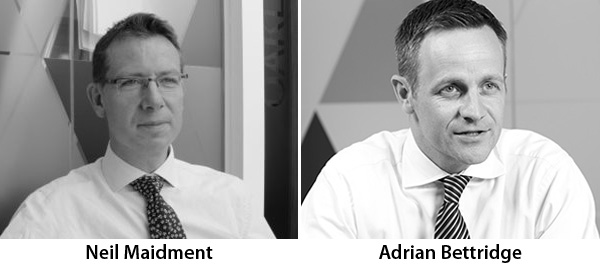 Neil Maidment and Adran Bettridge - Baringa Partners