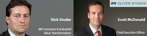Nick Studer heads C&I Value Transformation practice OW