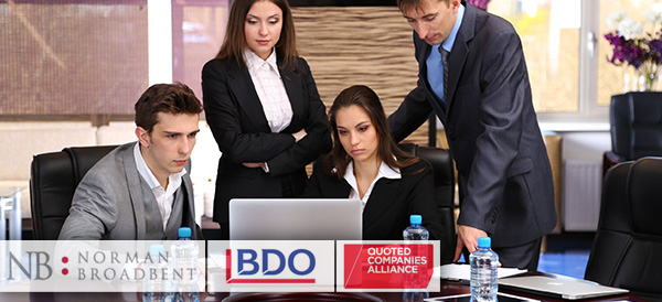 Norman Broadbent, BDO and Quoted Companies Alliance research board diversity