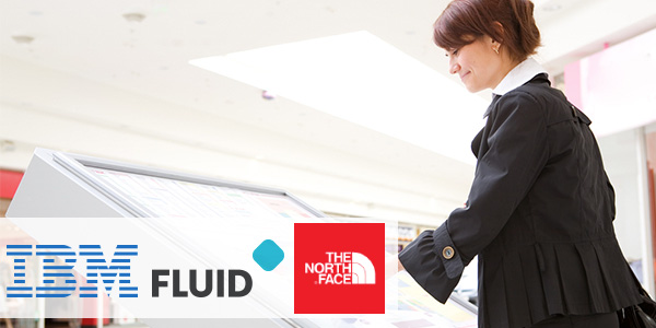North Face, IBM and Fluid launch shopping experience