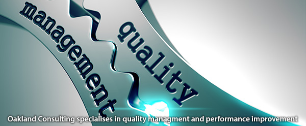 Oakland Consulting specialises in quality managment and performance improvement