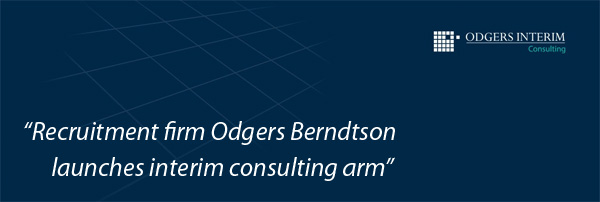 Odgers Berdtson launches Interim Consulting arm
