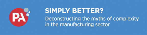 PA - Deconstructing the myths of complexity in the manufacturing sector