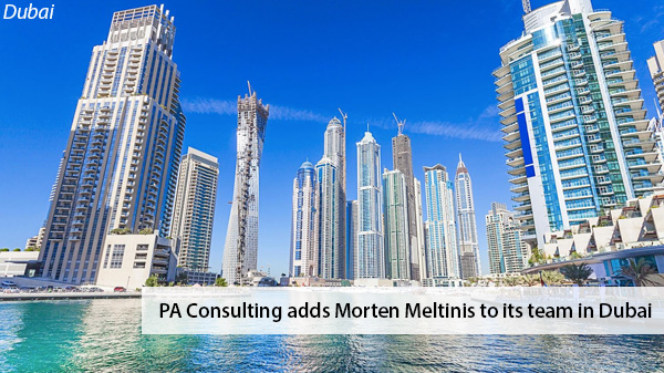 PA Consulting adds Morten Meltinis to its team in Dubai