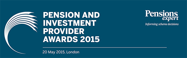 Pension and investment provider awards 2015