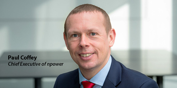 Paul Coffey, Chief Executive of npower