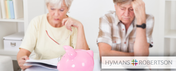 Pensions savings, Hymans Robertson