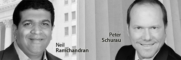 Peter Schurau and Neil Ramchandran