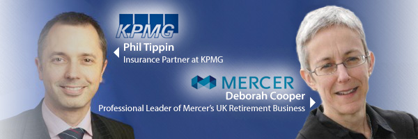 Phil Tippin - KPMG and Deborah Cooper - Mercer win Actuarial Awards