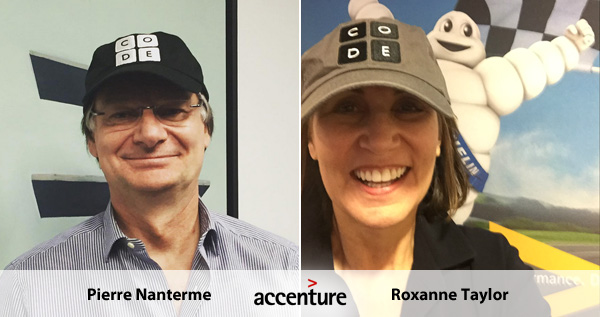 Pierre Nanterme and Roxanne Taylor - Accenture