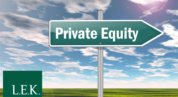 Private Equity - LEK Consulting