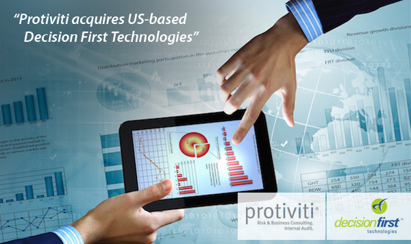 Protiviti acquires Decision First Technologies