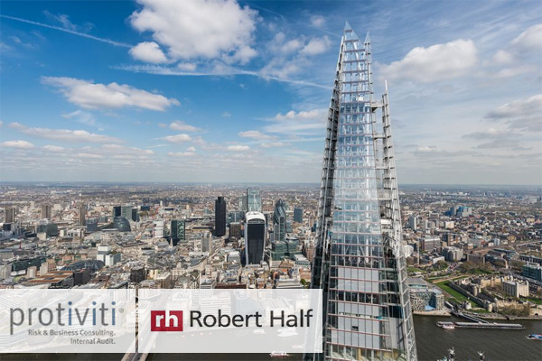 Protiviti And Robert Half Move Uk Office To The Shard