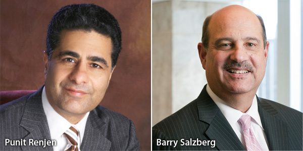 Punit Renjen and Barry Salzberg