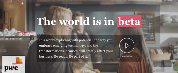 PwC - The World is in Beta