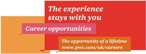 PwC - The experience stays with you