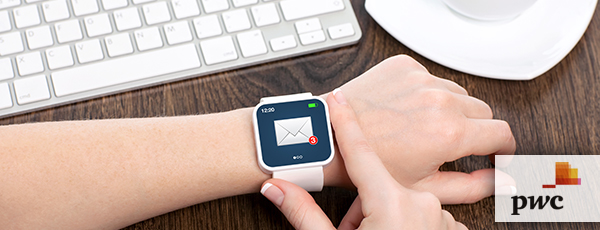 PwC - Workplace smartwatch