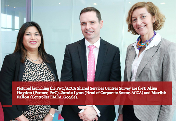 PwC ACCA Shared Services Centres Survey