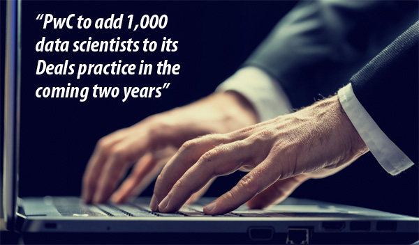PwC to add 1000 data scientists