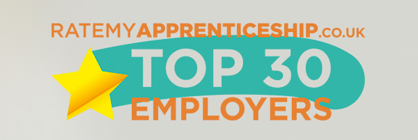 RateMyApprenticeship.co.uk - Top30 Employers