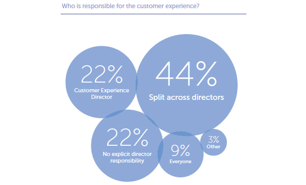 Responsibility for customer experience