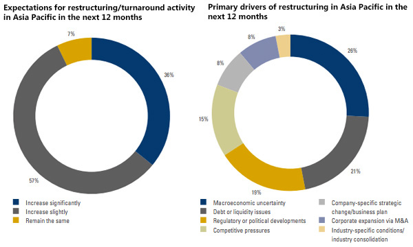 Restructuring activity and drivers