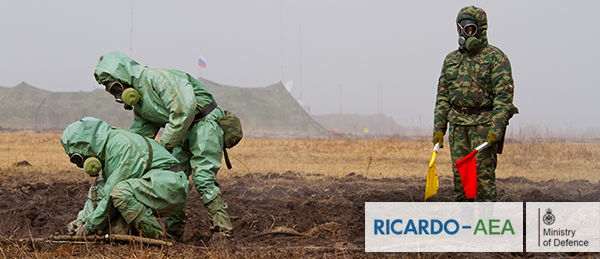 Ricardo-AEA provides chemical risk support for MoD