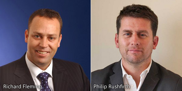 Richard Fleming and Philip Rushfirth