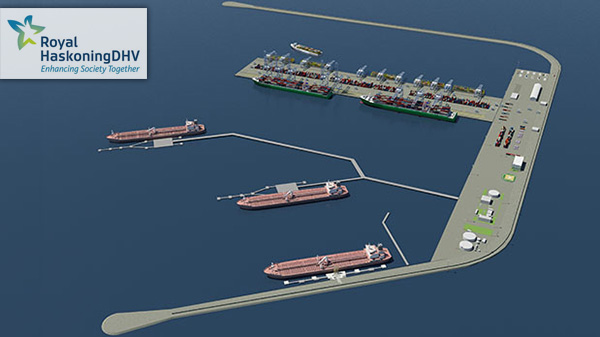 Royal HaskoningDHV presents plans Port of Venice terminal