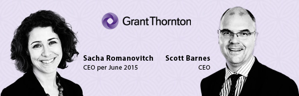 Sacha Romanovitch and Scott Barnes - Grant Thornton