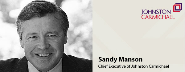 Sandy Manson, CEO of Johnston Carmichael