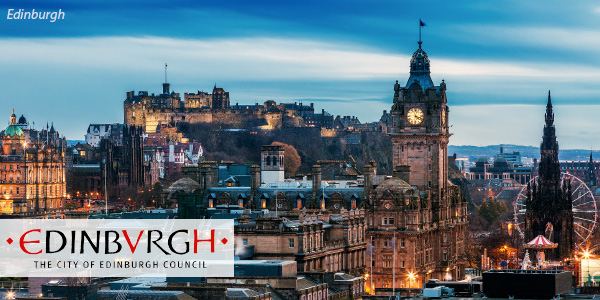 Scottish city of Edinburgh