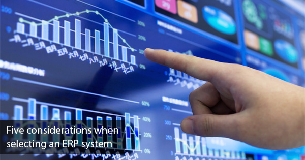 Selecting an ERP system