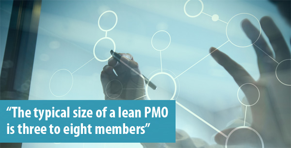 Size of lean pmo