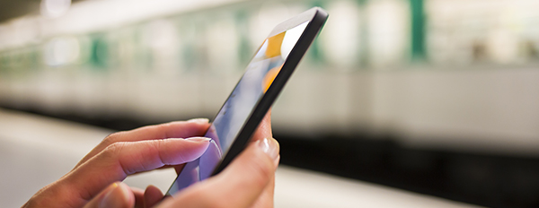 Smartphones can transform rail transport
