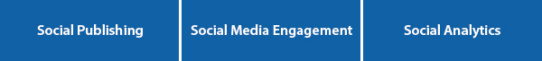 Social Publishing - Social Media Engagement - Social Analytics