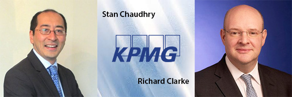 Stan Chaudhry and Richard Clarke, KPMG