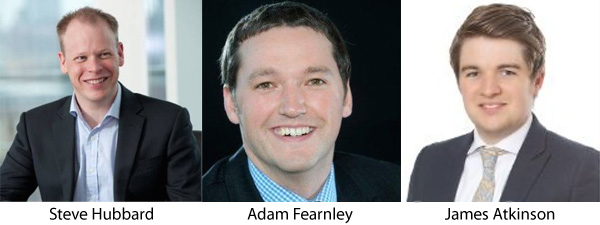 Steve Hubbard | Adam Fearnley | James Atkinson