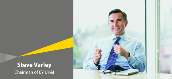 Steve Varley - CHairman of EY UK&I