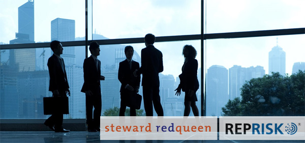 Steward Redqueen agrees partnership with RepRisk
