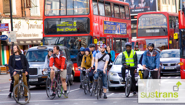 Sustrans to lead consortium to deliver London Quietways