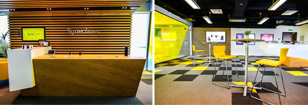 Synechron - Digital innovation center in Dubai