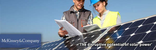 The disruptive potential of solar power - McKinsey & Company