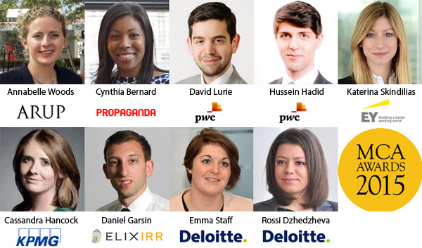 The 9 most talented young consultants in the UK