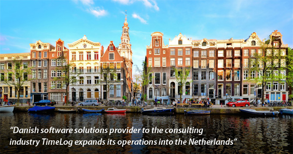 Timelog expands into the Netherlands