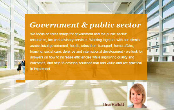 Tina Hallett - Government and Public Sector - PwC