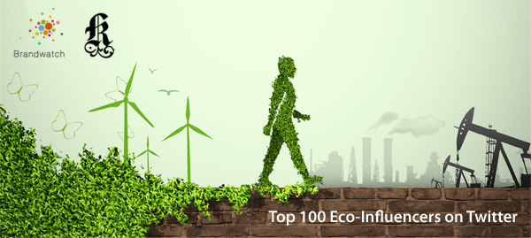Top 100 Eco Influencers on Twitter